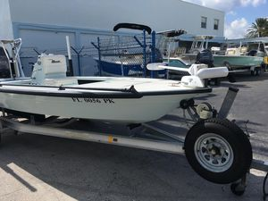 Used Maverick Boat Co. 18 HPX-V18 HPX-V Flats Fishing Boat For Sale
