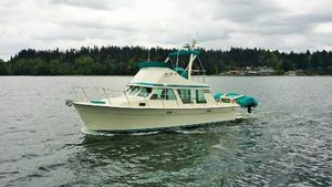 Used Tollycraft 34 Sedan Flybridge Boat For Sale