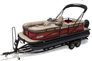 New Regency 210 DL3210 DL3 Pontoon Boat For Sale