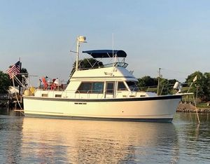 Used Prairie Boat Works 36 Trawler Boat For Sale