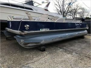 Used Grumman Pontoon Boat For Sale