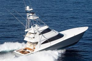 New Viking 72 Enclosed Bridge Convertible Fishing Boat For Sale
