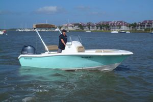 Used Tidewater 198 CC Adventure Center Console Fishing Boat For Sale