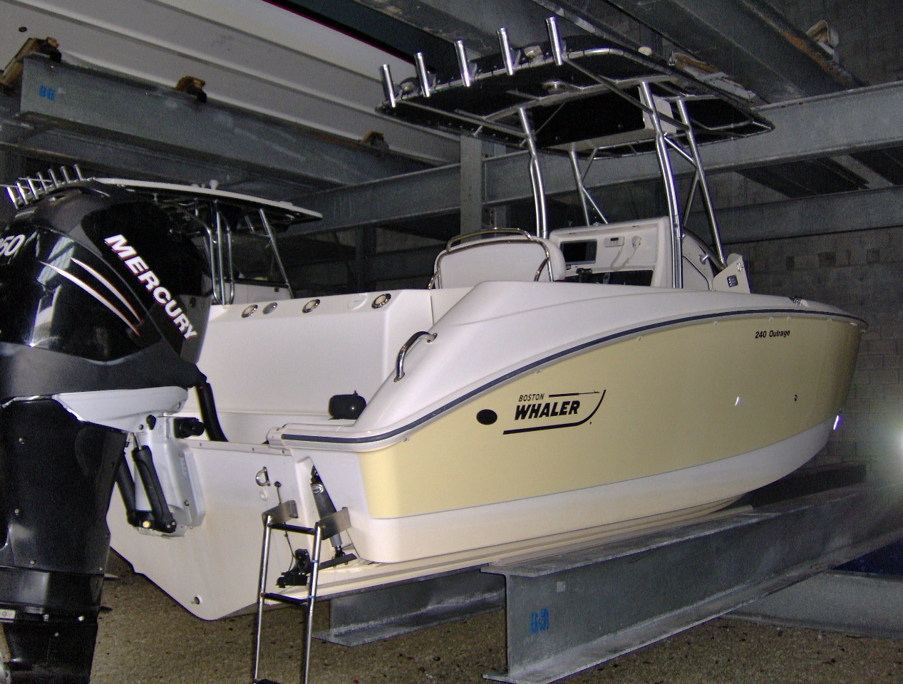 Used Boston Whaler 240 Outrage Center Console Boat For Sale