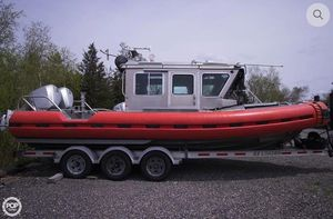 Used Safe Boats International 25 Full Cabin Cruiser Boat For Sale