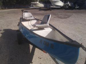 Used Gheenoe 13 Freshwater Fishing Boat For Sale
