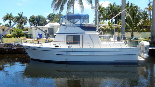 Used Monk Classic Motor Yacht For Sale