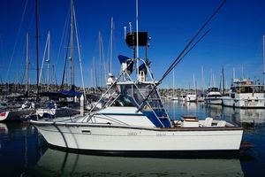 Used Topaz 29 Express Fisherman Express Cruiser Boat For Sale