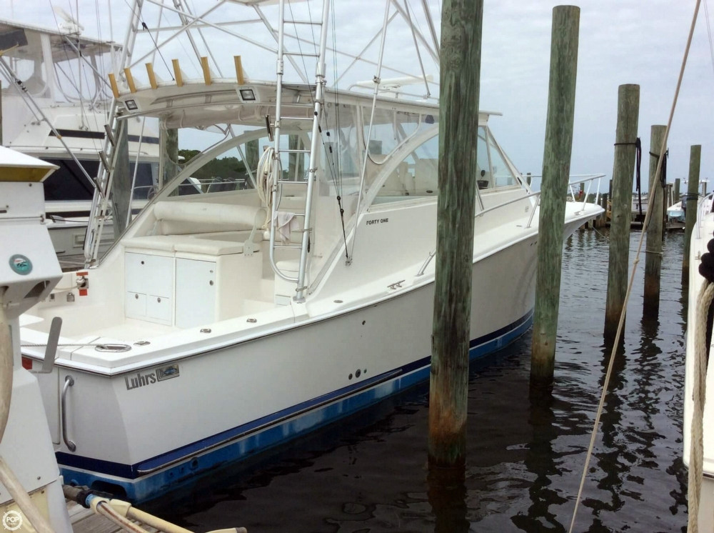 Used Luhrs 41 Open Sports Fishing Boat For Sale