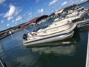 Used Tracker 21 PARTY BARGE21 PARTY BARGE Other Boat For Sale