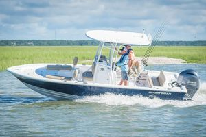 Used Sportsman Masters 227 Bay Boat Saltwater Fishing Boat For Sale