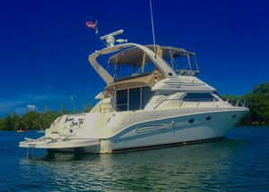 Used Sea Ray 450 Express Bridge Sports Cruiser Boat For Sale