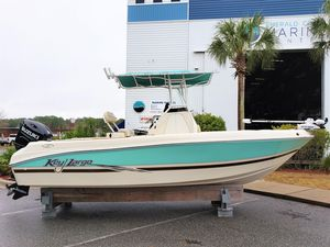 Used Key Largo 210 Walk IN Center Console Fishing Boat For Sale