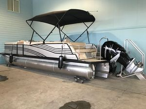 New Harris Flotebote 270 Grand Mariner Pontoon Boat For Sale