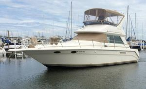 Used Sea Ray 370 Sedan Bridge Convertible Fishing Boat For Sale
