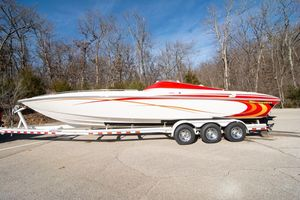 Used Sunsation 32 Mid-cabin High Performance Boat For Sale