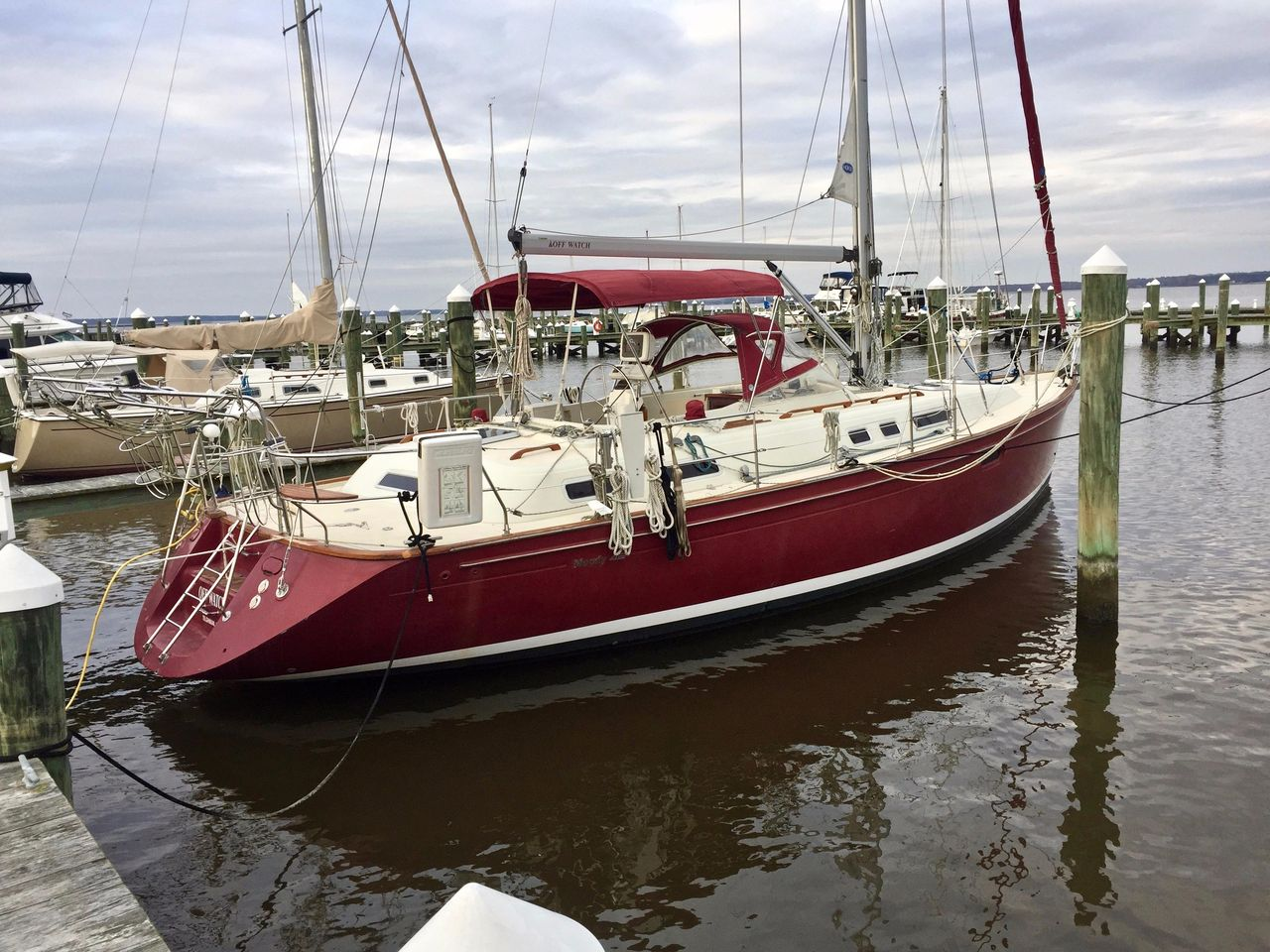2000 Used Moody 42 Cruiser Sailboat For Sale - $122,700 - Cambridge
