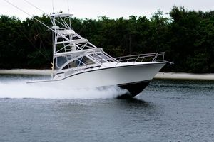Used Carolina Classic 35 Saltwater Fishing Boat For Sale