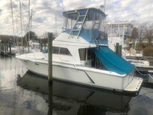 Used Trojan 10.8 Meter Sedan Convertible Fishing Boat For Sale