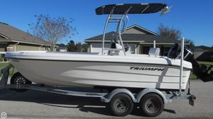 Used Triumph 195CC Center Console Fishing Boat For Sale