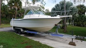 Used Pursuit 2470 Walkaround Fishing Boat For Sale