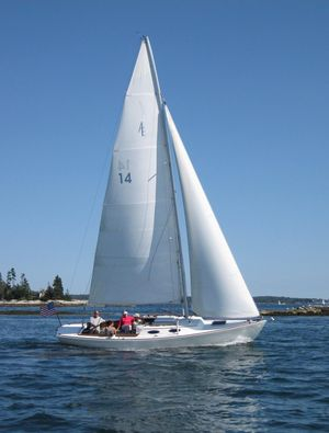 Used Alerion Express 28 Cruiser Sailboat For Sale