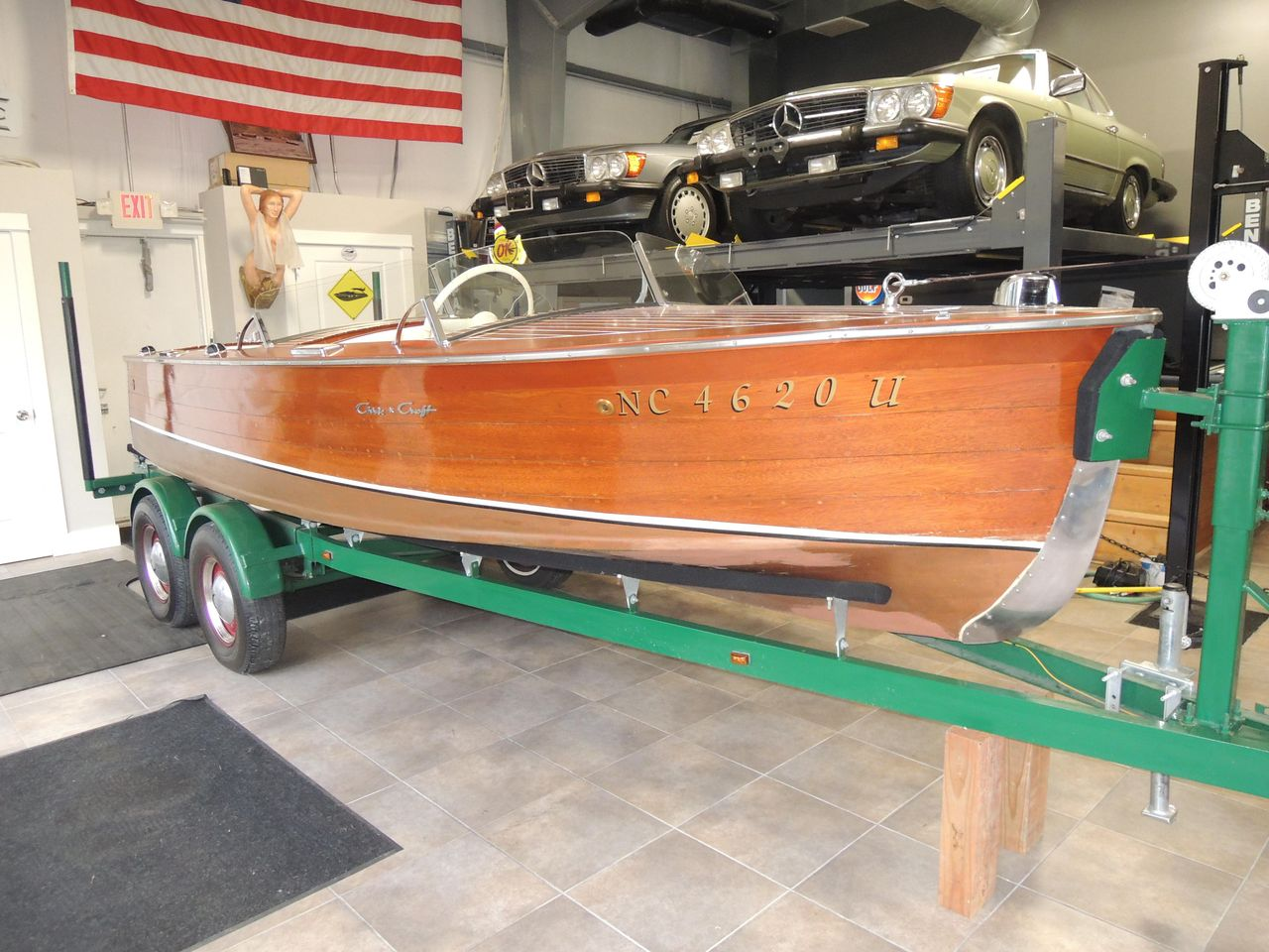 1949 Used Chris-Craft Runabout Deluxe Other Boat For Sale