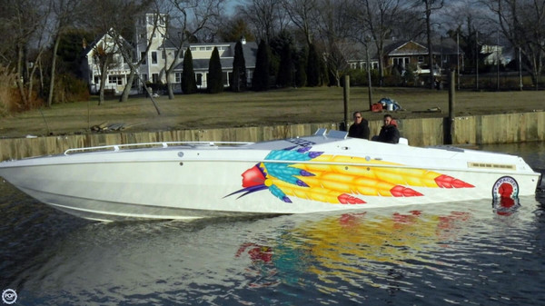 Used Apache Powerboats 36 Warrior High Performance Boat For Sale