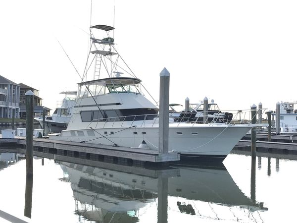 Used Hatteras 65 Sport Fisherman Motor Yacht For Sale