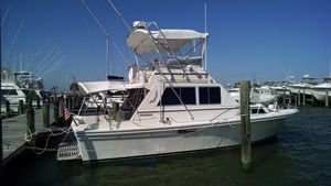Used Stamas 32 Sportfisherman Flybridge Boat For Sale