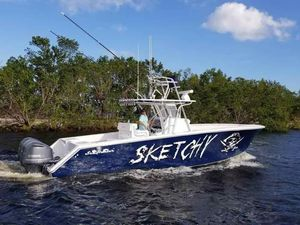 Used Sea Hunter 35 Tournament Center Console Fishing Boat For Sale