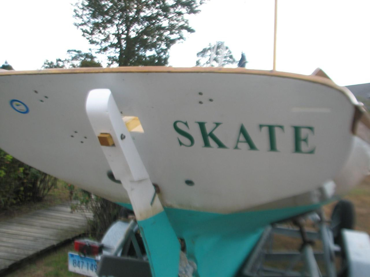 1988 Used Golden Era Petrel Daysailer Sailboat For Sale - $24,000