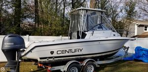 Used Century 2300 Walkaround Fishing Boat For Sale