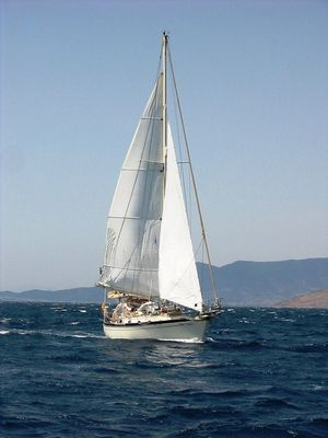 Used Ta Shing Tashiba 40 Shoal Draft Cruiser Sailboat For Sale