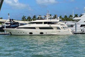Used Ferretti Yachts Navetta Motor Yacht For Sale
