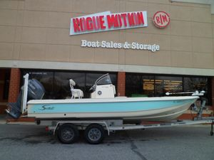 Used Scout 220 Bay Scout Freshwater Fishing Boat For Sale