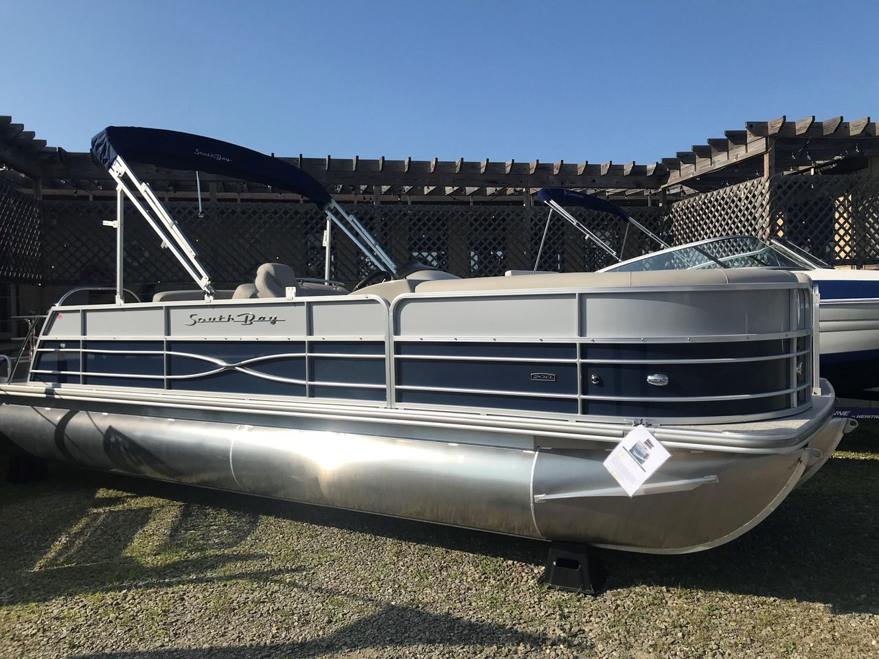 Tritoon For Sale >> 2019 New South Bay S224 Sb22 Tritoon Pontoon Boat For Sale