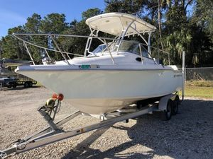 Used Key West 211 WA Walkaround Fishing Boat For Sale