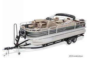 New Sun Tracker Fishing Barge 22XP3 w/ Mercury 150L 4SFishing Barge 22XP3 w/ Mercury 150L 4S Pontoon Boat For Sale