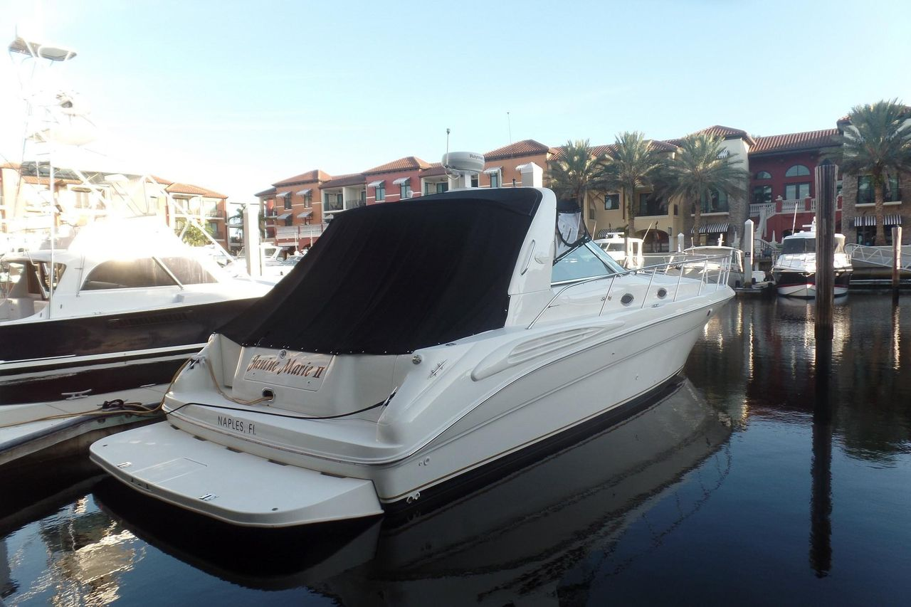 1999 Used Sea Ray 400 Sundancer Express Cruiser Boat For Sale