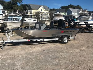 Used Xtreme 1654sc1654sc Aluminum Fishing Boat For Sale