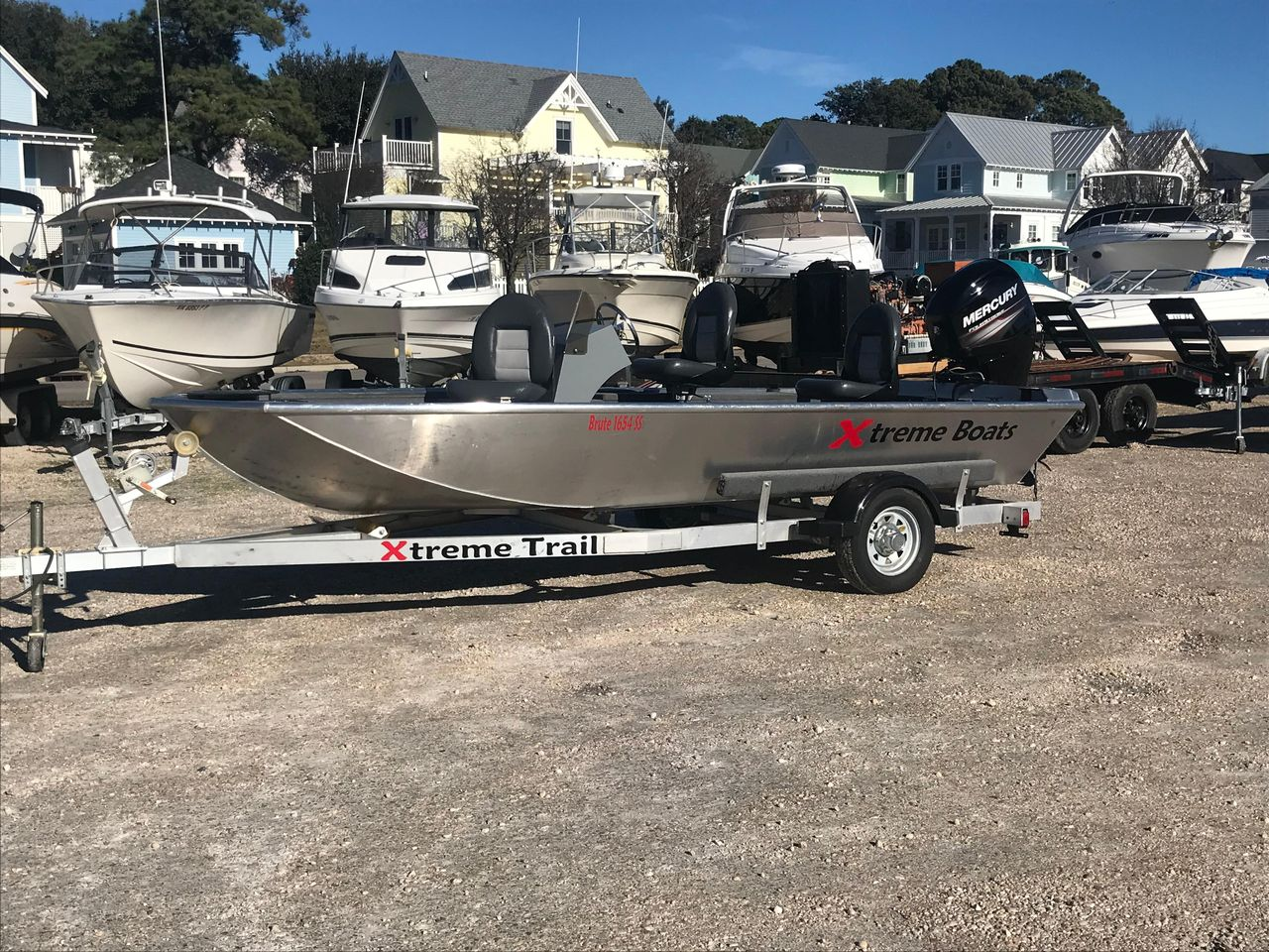 2017 Used Xtreme 1654sc1654sc Aluminum Fishing Boat For Sale