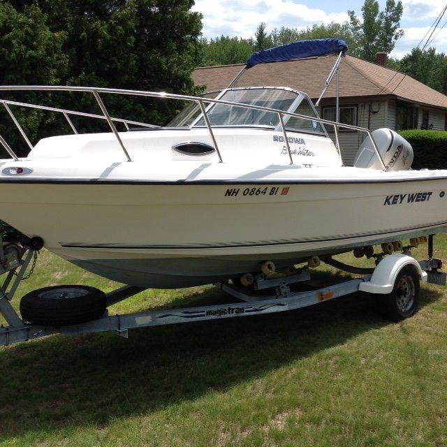 Used Key West 2020 CC 11605 Cuddy Cabin Boat For Sale