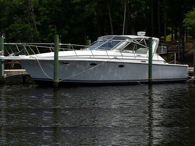 Used Trojan International 11M Cruiser Boat For Sale