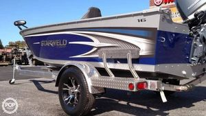 Used Starcraft STARWELD 1600 SC Aluminum Fishing Boat For Sale