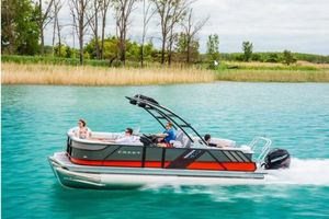 New Crest Caliber 230 Pontoon Boat For Sale
