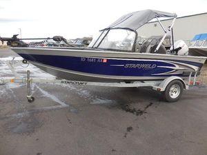 New Starweld 16 DC16 DC Aluminum Fishing Boat For Sale