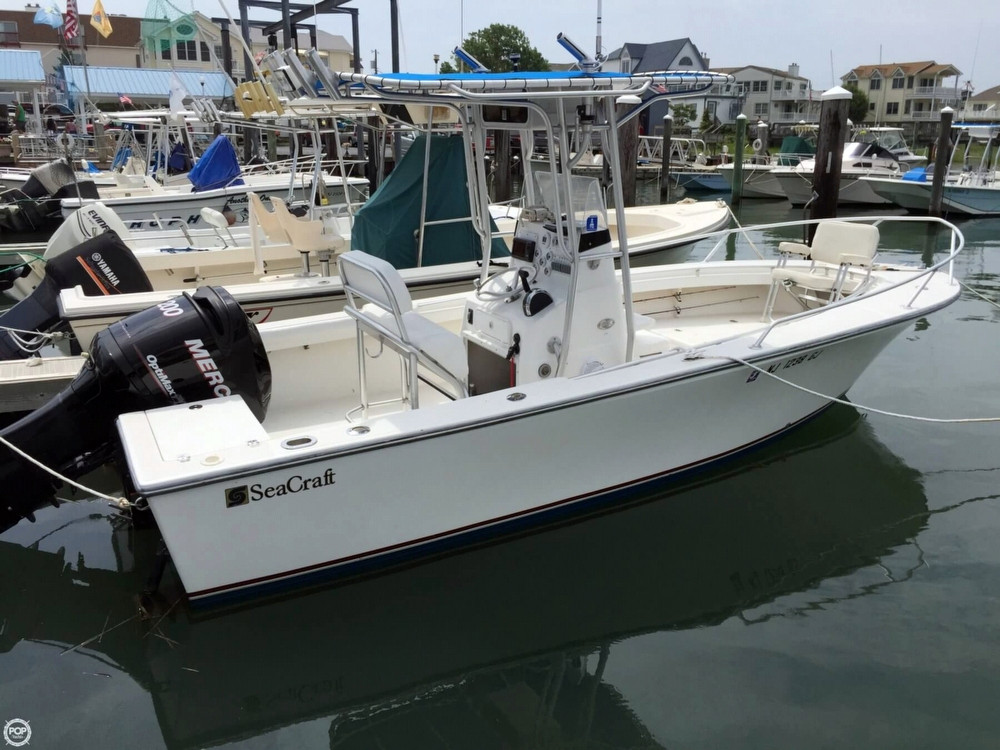 Used Seacraft 21 CC Center Console Fishing Boat For Sale