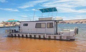 Used Kayot 40 X 14 Pontoon Houseboat Pontoon Boat For Sale