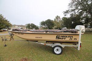 Used Carolina Skiff JV15 CC Center Console Fishing Boat For Sale